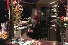 Unsere gut bestückte Bar
