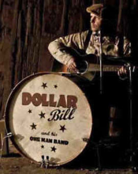 Dollar Bill and his one man band